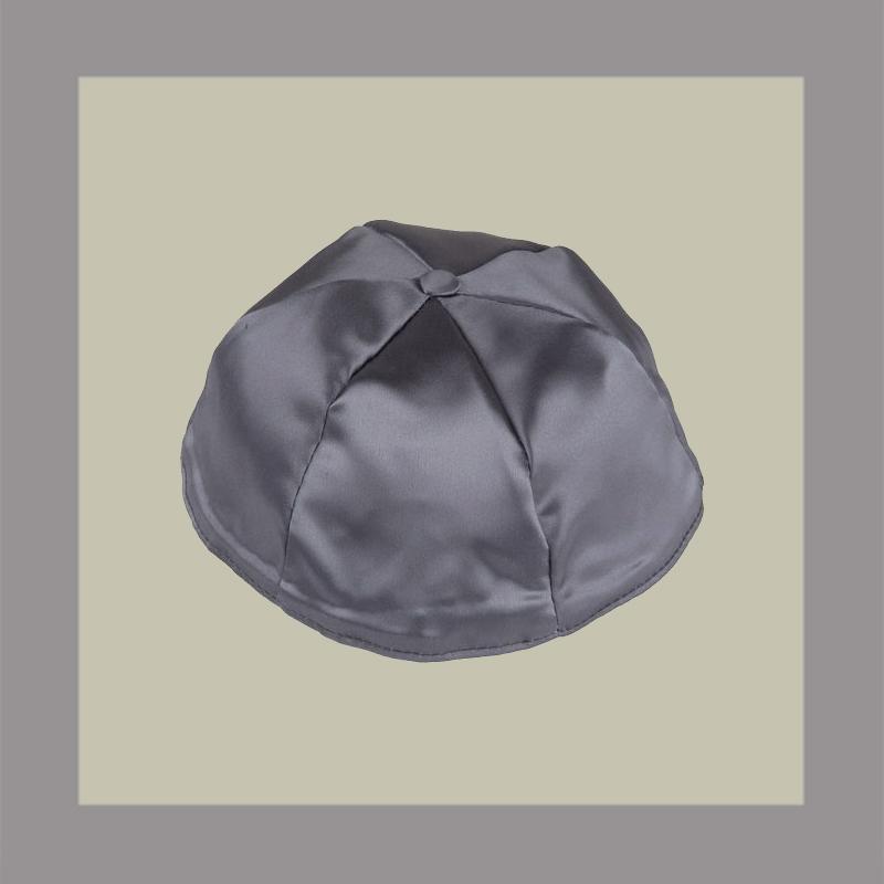 Dark Grey Satin