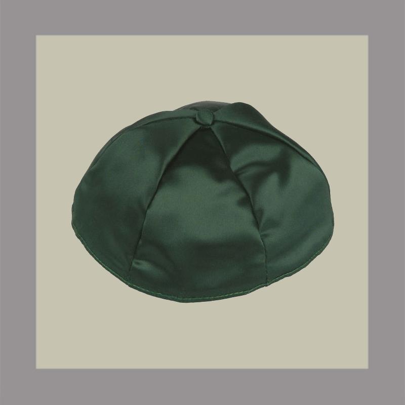 Dark Green Satin